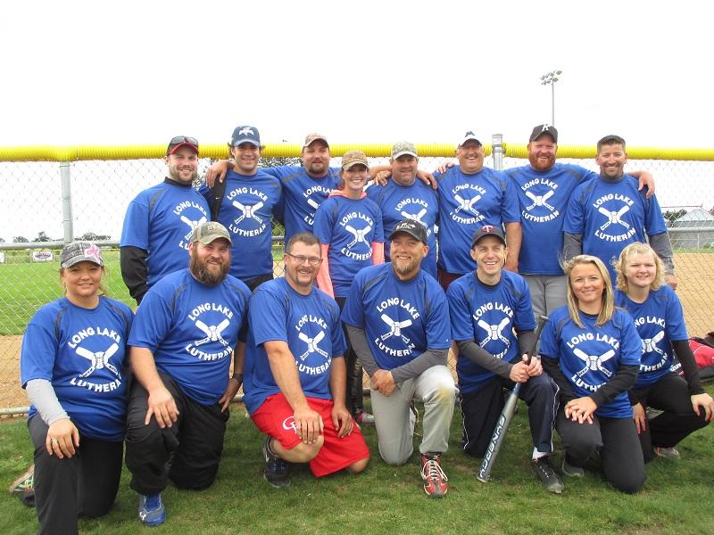 Adult Softball Team summer 2015